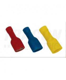 Produkt: KONEKTOR IZOLOVANY MODRY 6,3x0,8 KTCSH6