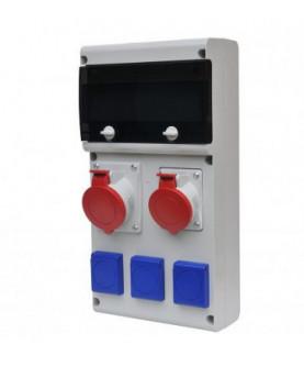 Produkt: SCAME ROZVODNICA 632.312W-012F2 (1x32A,1x16A/5p,3x230V),ISTENIE+CHRANIC