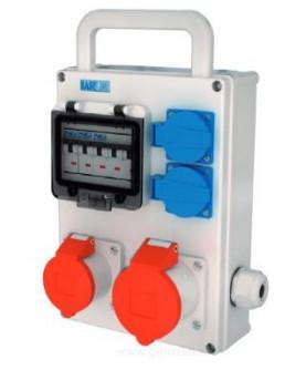 Produkt: NG ROZVODNICA 997 NGE32008M.01(1x32A/5P,1x16A/5P,2x230V+ISTENIE+DRZIAK)