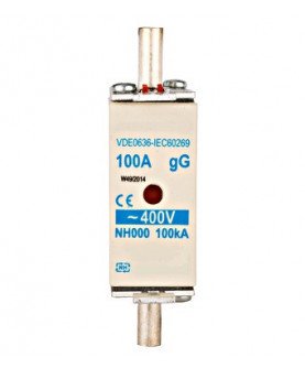 Produkt: POISTKA NOZOVA NV00 C 100A gL-gG KOMBI 500V