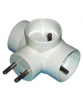 Produkt: ROZVODKA 3x230V BIELA GULATA P0024