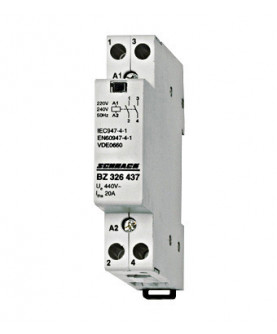 Produkt: SCHRACK STYKAC 20A/1Z+1R/230V BZ326438