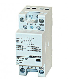 Produkt: SCHRACK STYKAC 40A 4P BZ326442