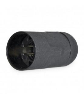 Produkt: OBJIMKA PVC E14/50 CIERNA (1253-030) HLADKA