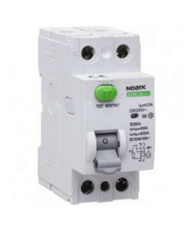 Produkt: NOARK PR.CHRANIC 25A 2P 30mA Ex9L-N 25