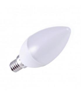 Produkt: ZIAROVKA LED NEDES SVIECKOVA 8W/C37/E14/2835/6000K-ZLS704-STUDENA+REC.POPLATOK 0,05€/ks