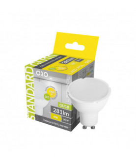 Produkt: ZIAROVKA LED ORO-GU10-TOTO-4W-CW 5901752711457+REC.POPLATOK 0,01€/ks