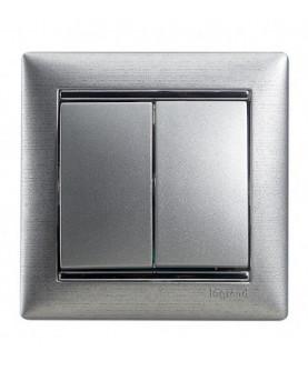Produkt: LEGRAND DVOJTLACITKO HLINIK 770218